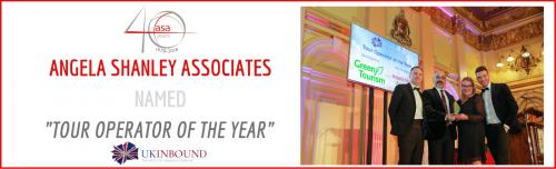 "Angela Shanley Associates named 'Tour Operator of the Year"" header image"