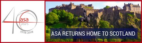 ASA is coming home……..to Scotland! header image