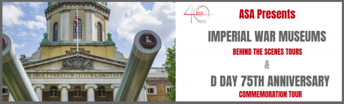 Imperial War Museums – Behind the Scenes Tours & D Day 75th Anniversary Commemorations header image