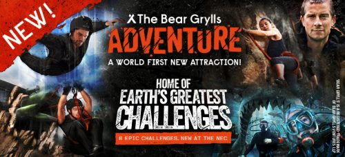 The Bear Grylls Adventure header image
