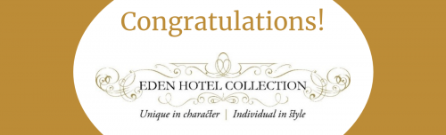 Eden Hotel Collection celebrates new AA Rosettes and Red Star ratings header image