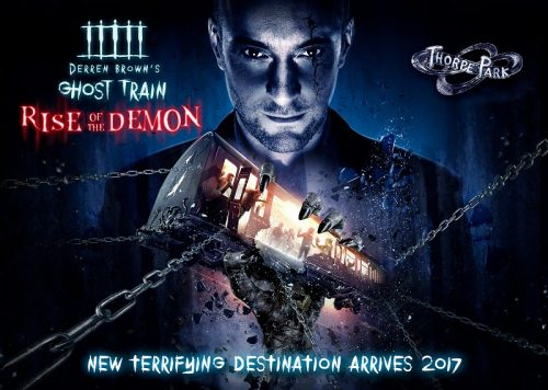 Derren Brown's Ghost Train: Rise of the Demon at THORPE PARK Resort header image
