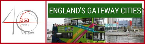 London and Manchester: Gateways to England header image
