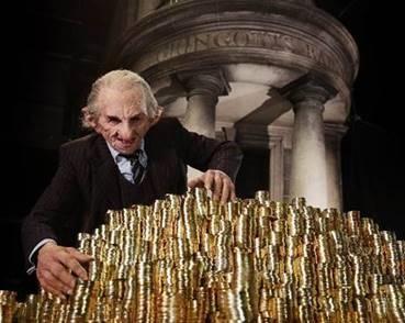 STEP INTO GRINGOTTS WIZARDING BANK AT WARNER BROS. STUDIO TOUR LONDON – THE MAKING OF HARRY POTTER header image