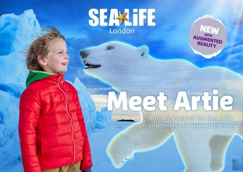 SEA LIFE London's Polar Adventure header image