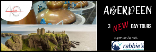 Explore more of Scotland, with 3 NEW day tours departing from Aberdeen header image