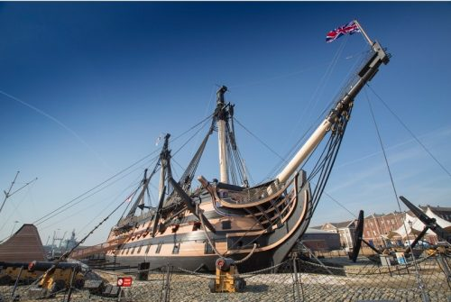 THE NATIONAL MUSEUM OF THE ROYAL NAVY header image