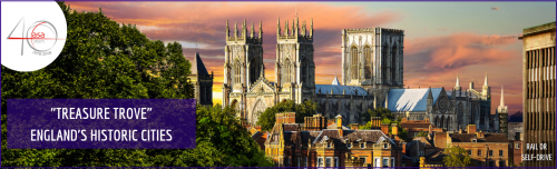 A 'Treasure Trove' of delights awaits you in England's Historic Cities header image