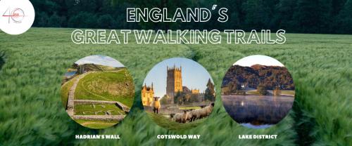 England's Great Walking Trails header image
