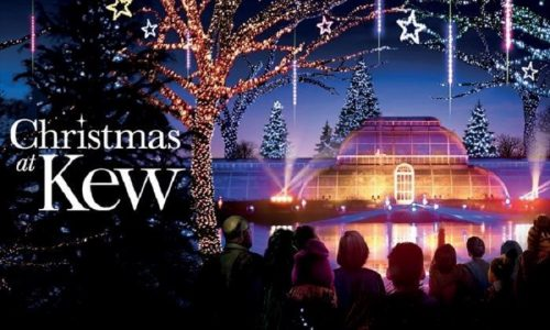 Christmas at Kew Gardens header image