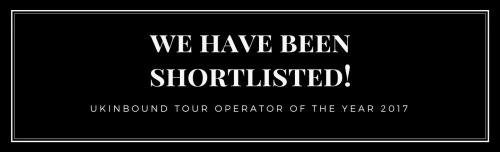 UKInbound Awards for Excellence 2017 – we have been shortlisted! header image