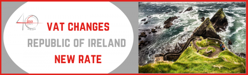Ireland raises tourism VAT to 13.5% header image