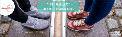 Travel back in time with our new 'Time Travellers' itinerary header image
