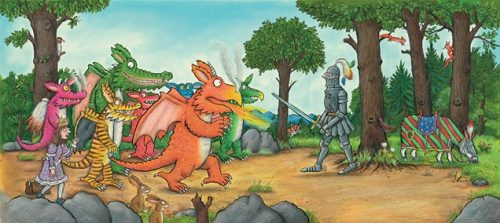 Zog the lovable dragon lands at Warwick Castle this Easter header image