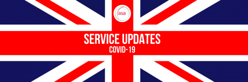OPERATIONAL UPDATES DUE TO COVID-19 header image