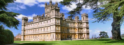 Downton Abbey Style of Living header image